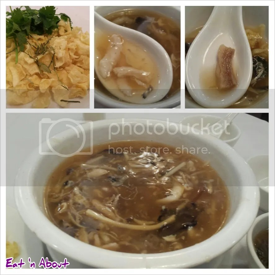 Golden Sea City Restaurant: Snake Meat with Bamboo Shoot and Fungus Thick Soup