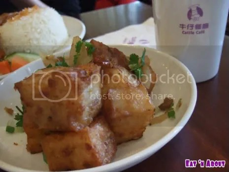 Cattle Cafe: XO Sauce Pan-fried Turnip Cake