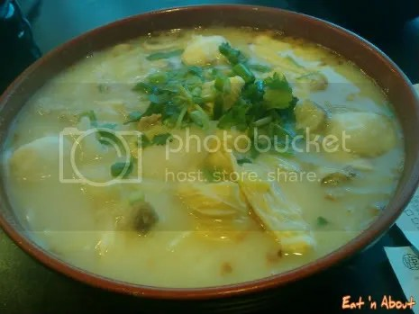 Deer Garden: ChaoZhao Fish Soup with Minced Pork