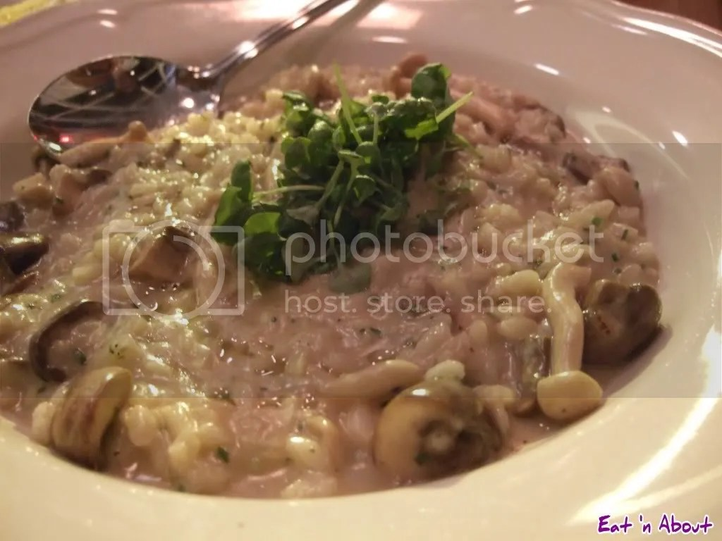Ask for Luigi: Mushroom Risotto