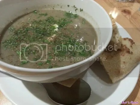 Rocky Mountain Flatbread Company: BC Mushroom and Apple Soup