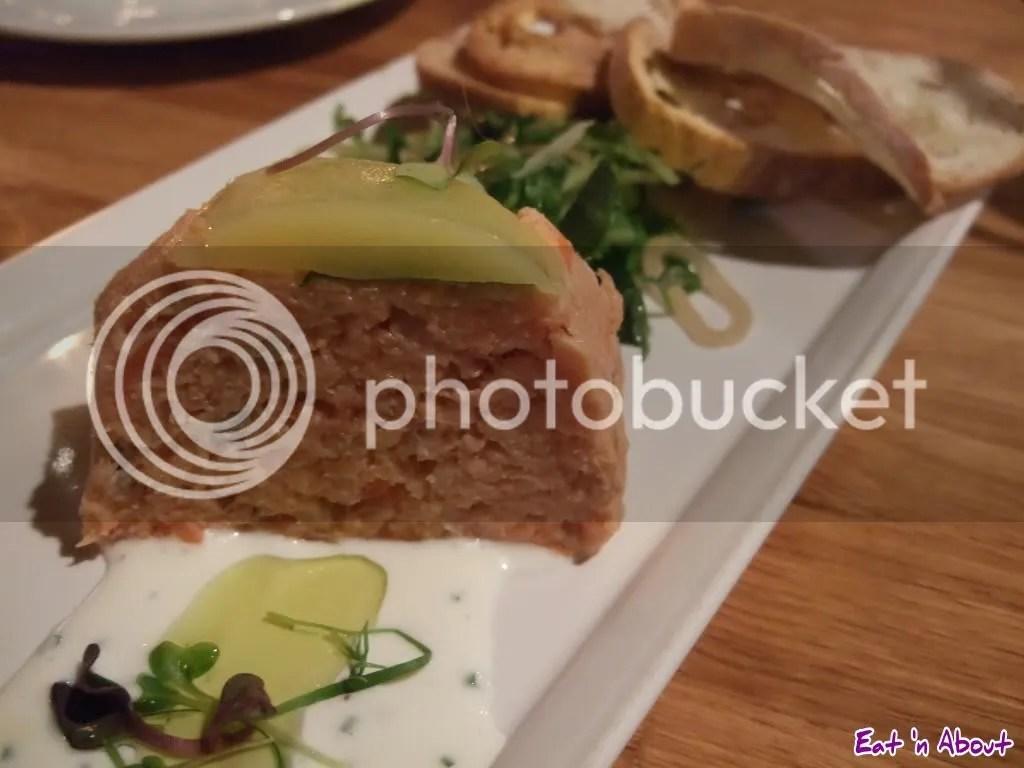 Siena Restaurant: Smoked Salmon & Smoked Trout Rillettes