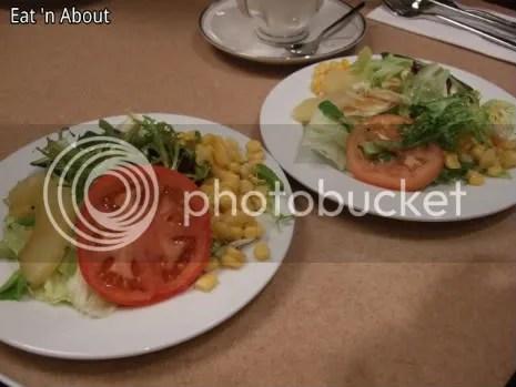 Aoyama Cafe: dinner salad