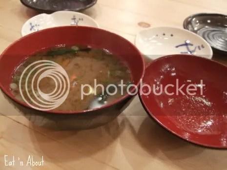 Gyo-O: miso soup