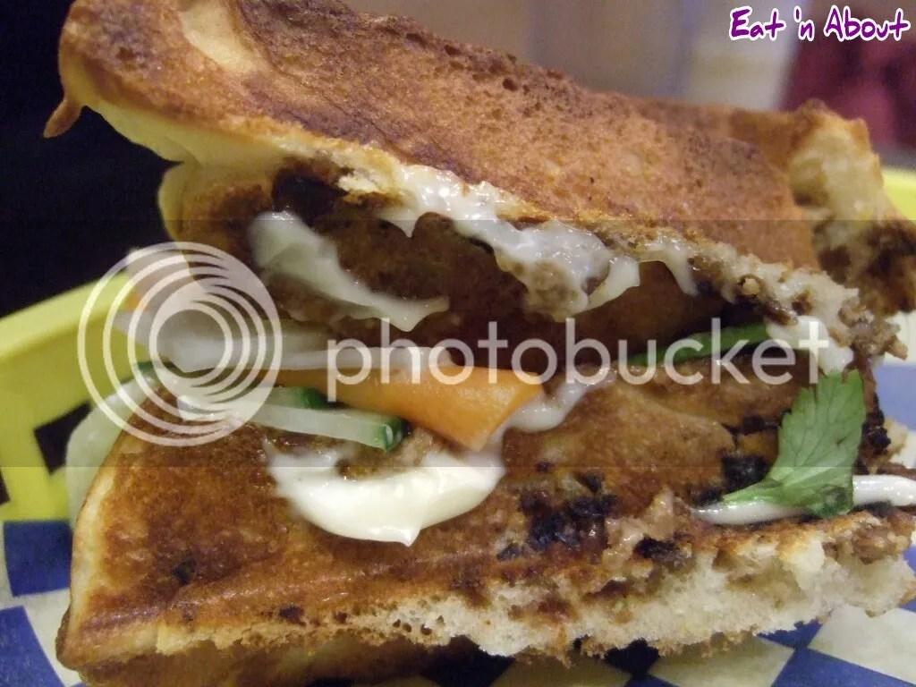 Miura Waffle Milk Bar: Hoisin Sando