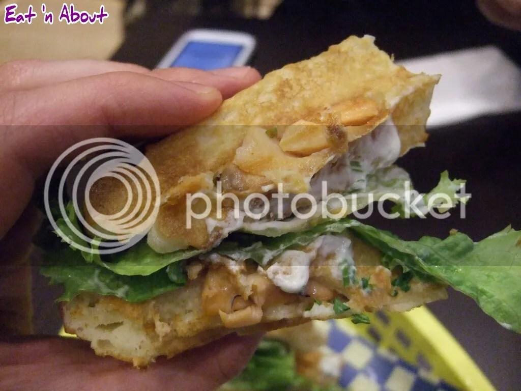 Miura Waffle Milk Bar: Wasabi Salmon sando
