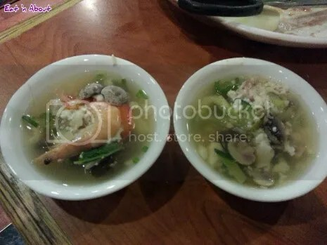 Insadong Coquitlam: Seafood Non-spicy soft tofu soup