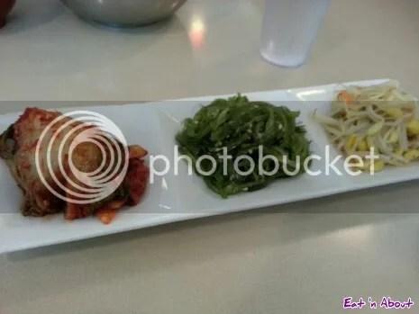 Potter's Garden Korean BBQ: Banchan