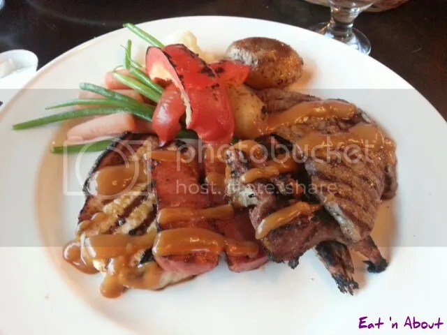 Chefe Daniel Restaurant Flavours of Portugal: Mixed Grill