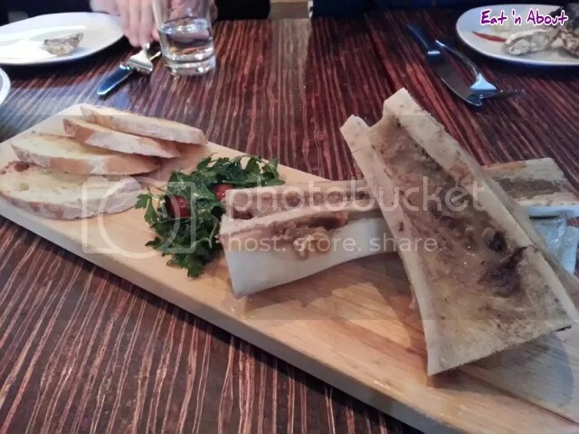 Merchant's Oyster Bar: Roast Bone Marrow