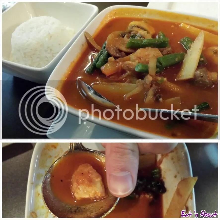U & I Thai: Fish Jungle Curry (Gang Pah)