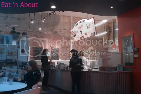Mallard Ice Cream interior