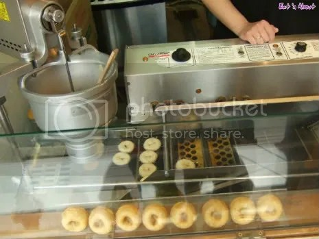 Soy milk mini donuts in Japan