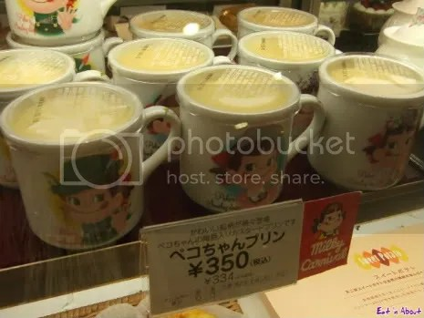 Food department at Daimaru: Milk Pudding