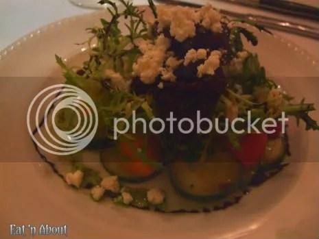 Currant American Brasserie: Heirloom Tomato Salad