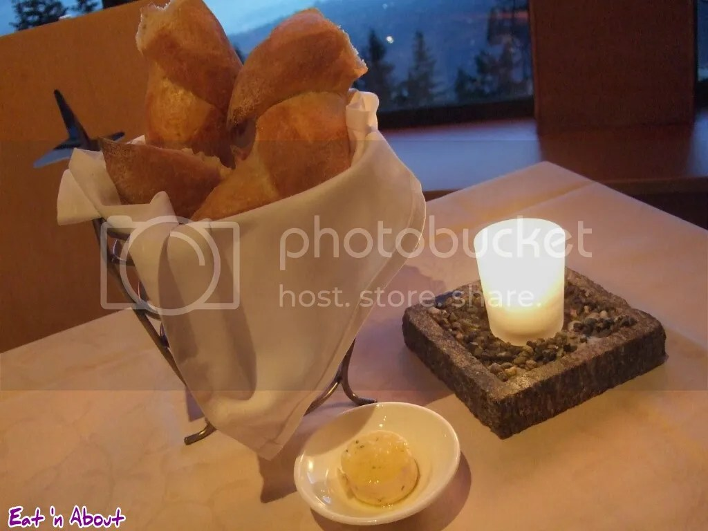 The Observatory Grouse Mountain: bread basket
