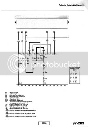 Vw Tail Light Wiring Diagram  Machine Repair Manual