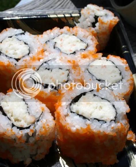 Crab rolls.
