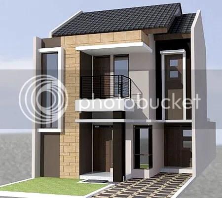 Desain Rumah Minimalis 2 Lantai Luas Tanah 100m2 Rumah