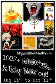 1027 Followers Giveaway