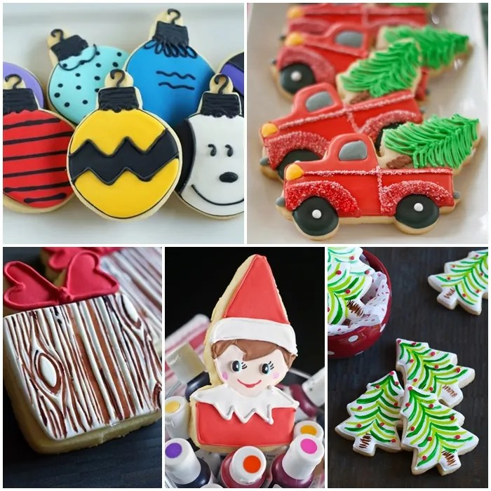 Decorating Christmas Cookies  You ll want these tips and recipes     decorated christmas cookie ideas  PLUS christmas cookie decorating tips   tricks  and recipes