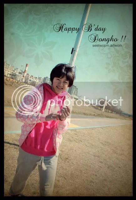 Happi Bday Maknae Dongho!! ^^