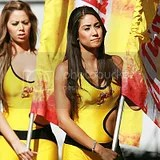 Mexican Primera Soccer Cheerleaders Porristas