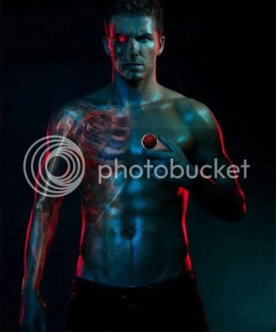 David Beckham as a Terminator
