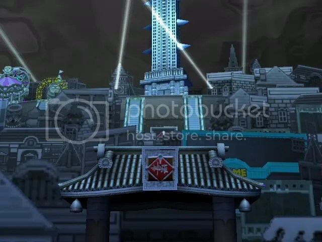 Shinra's Front Gate