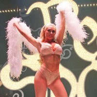 CoCo Austin Strips Down for Peep Show in Las Vegas