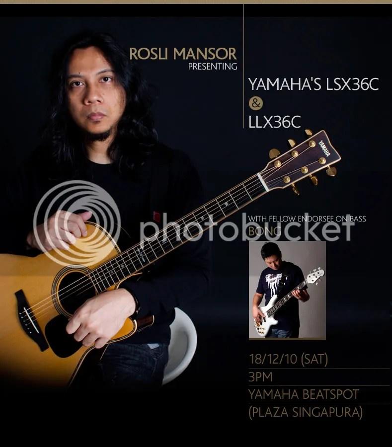 Rosli Mansor, Yamaha, LSX36C, LLX36C