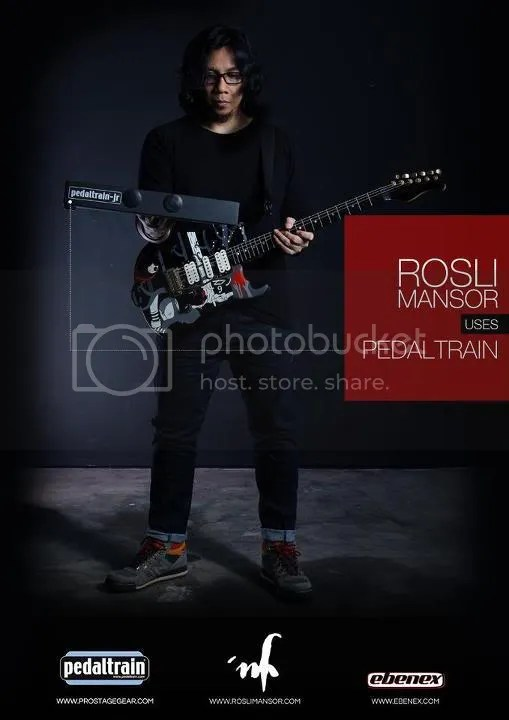 Rosli Mansor, Pedaltrain, Ebenex