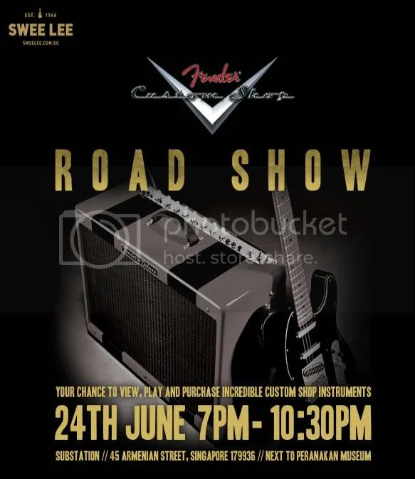 Fender Custom Shop Roadshow