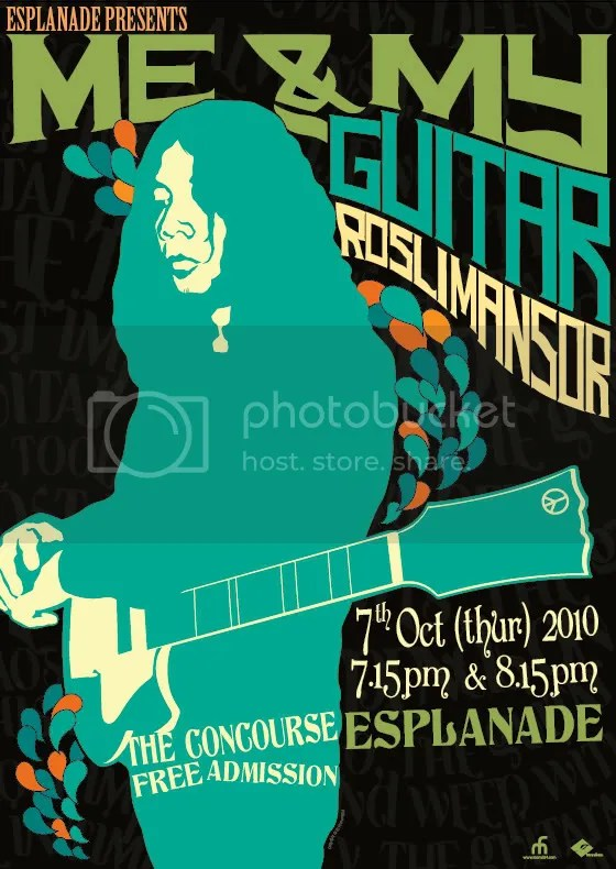 Rosli Mansor, Me & My Guitar, Esplanade