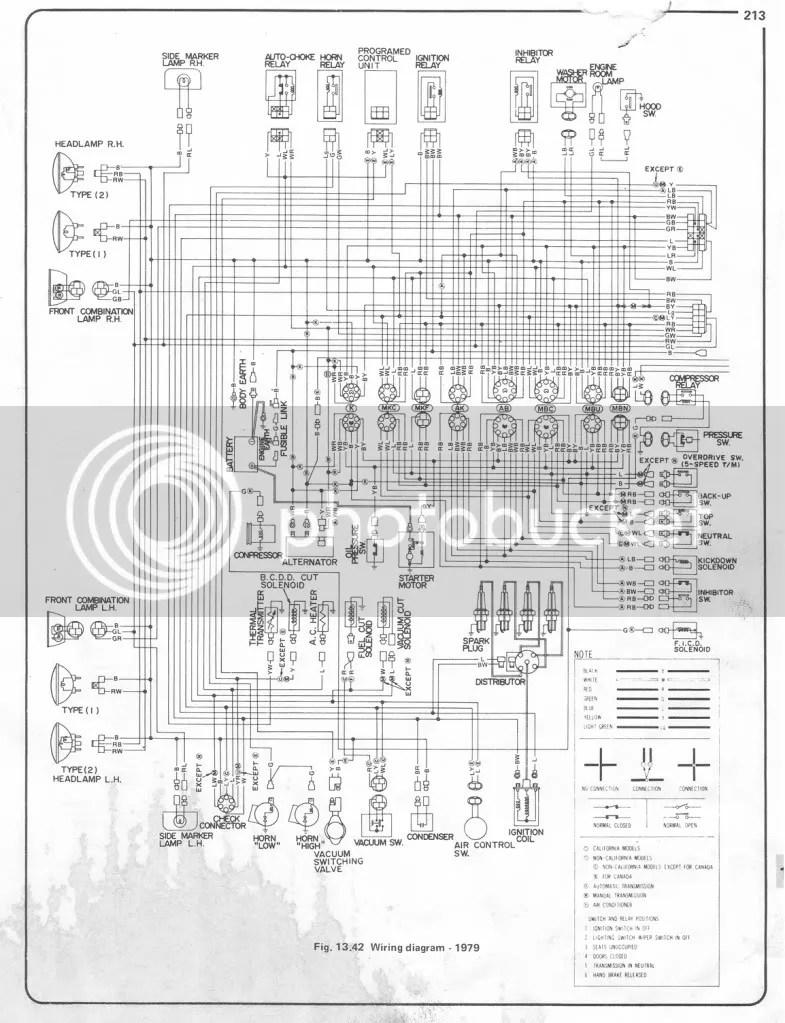 1978 Datsun Pickup Wiring Diagram Explained Diagrams Jtr 280z V8 1974 620 Electrical 1975 1977