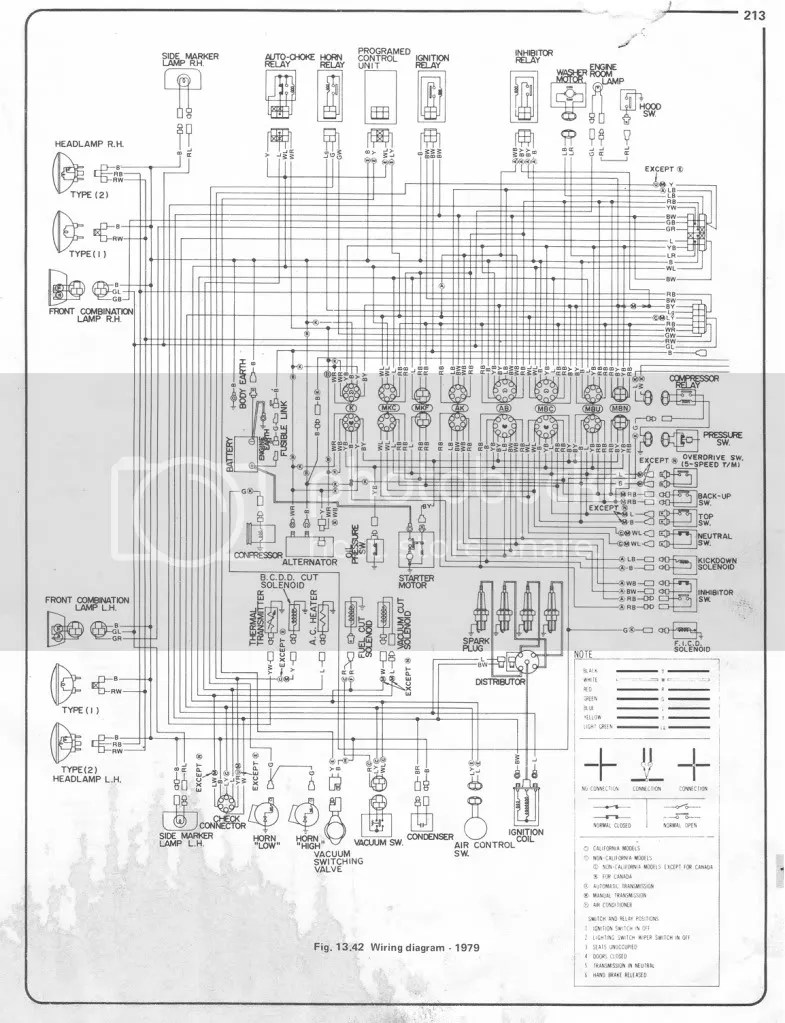 wiringdiagram1979datsun620page1 1?resize\=665%2C867 1976 datsun 620 wiring diagram wiring diagram simonand 1976 datsun 280z wiring diagram at gsmx.co
