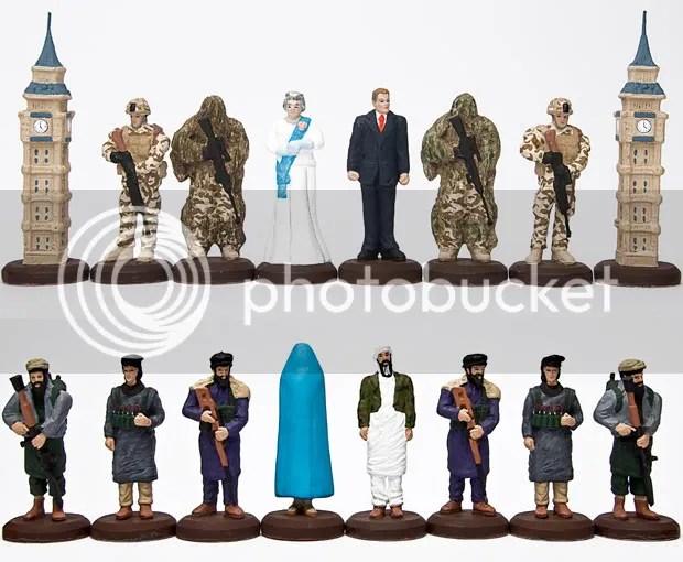 Teror Osama Pindah ke Papan Catur 2