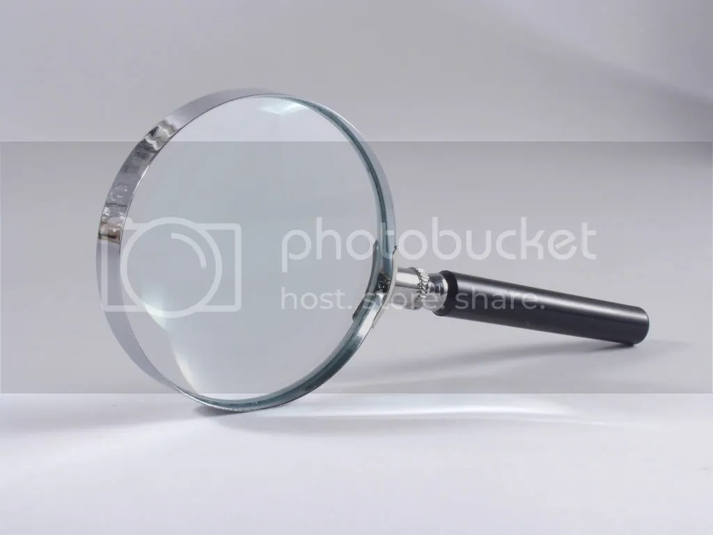 Timeshare Relief Magnifying Glass