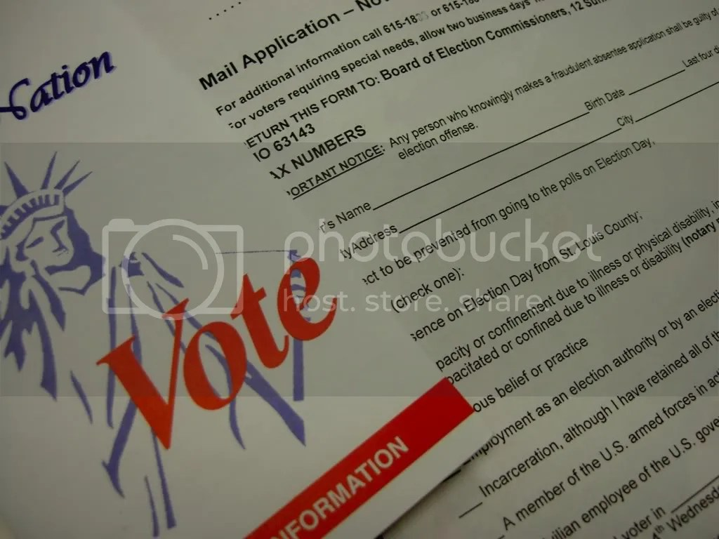 Timeshare Relief Vote on election day