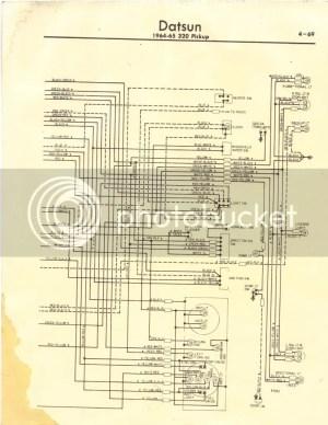 Datsun 320 Truck Wiring Diagram  320  Ratsun Forums