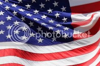Flag Stars and stripes national day - Parole sparse qua e lá