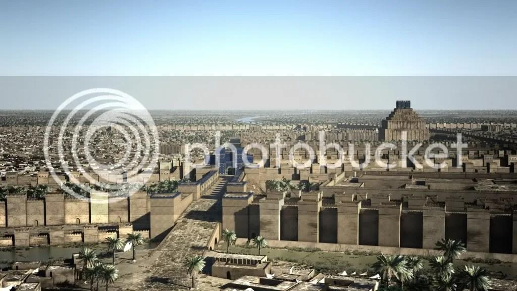 Reconstruction of Babylon at the time of Alexander Alexander_der_Grosse_Babylon.jpg