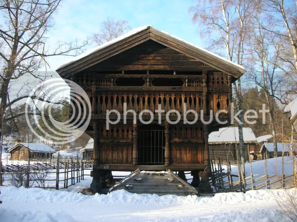 Hallingdal Loft from 1700s
