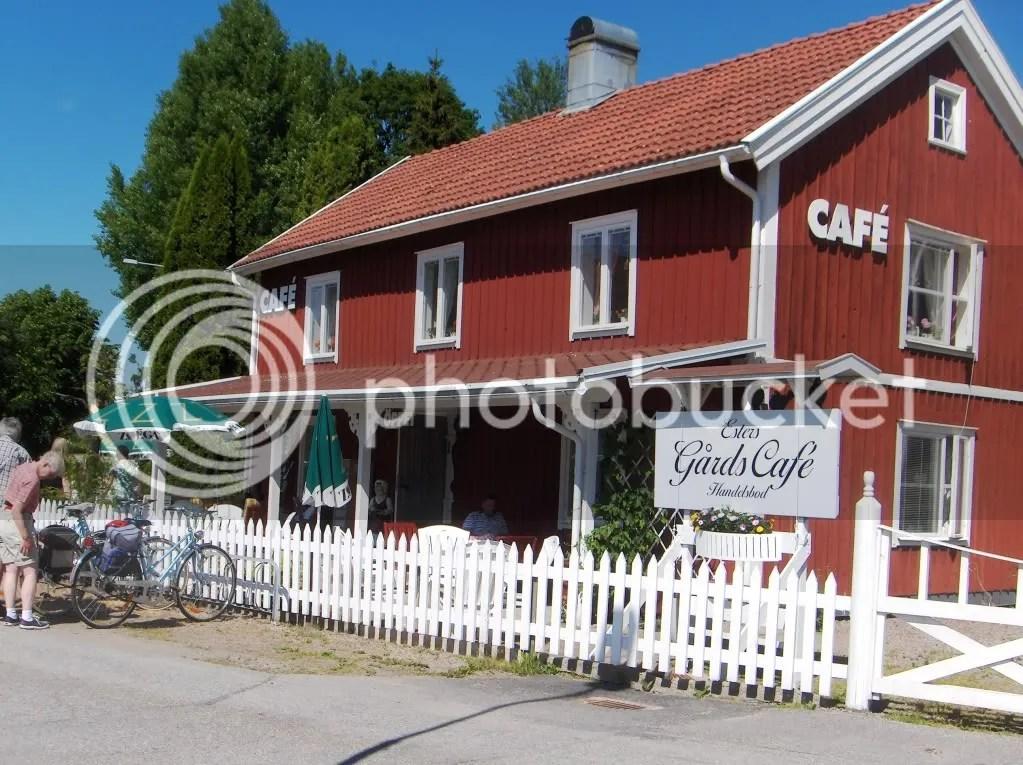 Esters Cafe in Lyrestad