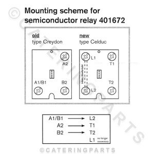 RE12 SSR SOLID STATE RELAY FITS RATIONAL COMBI STEAM OVENS