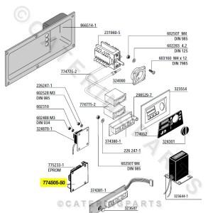 HOBART 77450550 CPU PROCESSOR PCB DISHWASHER GLASSWASHER
