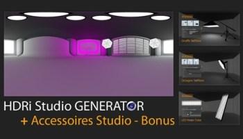 Mustapha Fersaoui Folding Title Generator for Cinema 4D