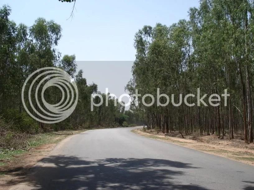 NH-207 near Chikka Tirupathi