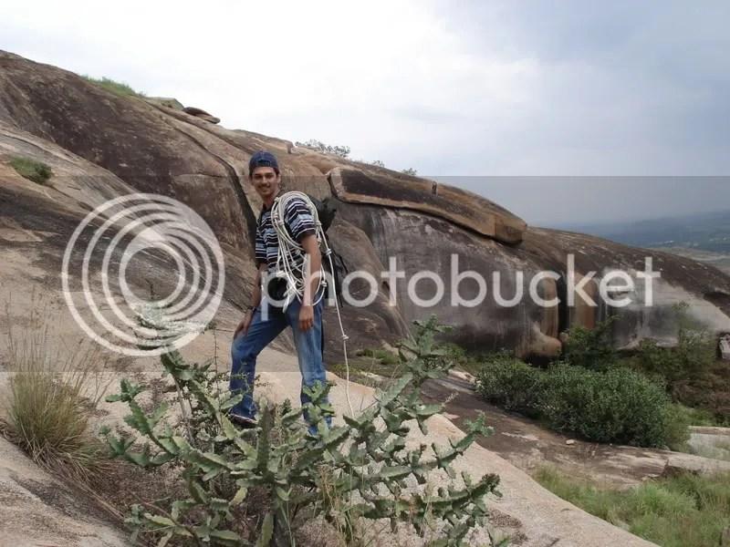 Lead climber