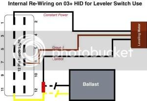 [Mk4 Golf] Oem Xenon Wiring Adapters And Rheostat Mod  D